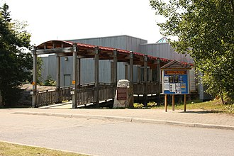 Algonquin Provincial Park - The Algonquin Visitor Centre at km 43 of the Highway 60 corridor