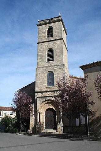 Alignan-du-Vent - Church St-Martin
