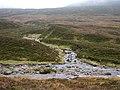 Allt Meall a' Bhealaich flows into Uisge Labhair - geograph.org.uk - 265402.jpg