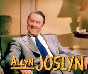 Allyn Joslyn - in I Love Melvin (1953)