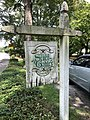 Almand-O'Kelley-Walker House of Seven Gables sign on Scott Street side.jpg