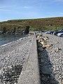 Along the sea wall, Abereiddy - geograph.org.uk - 1502648.jpg