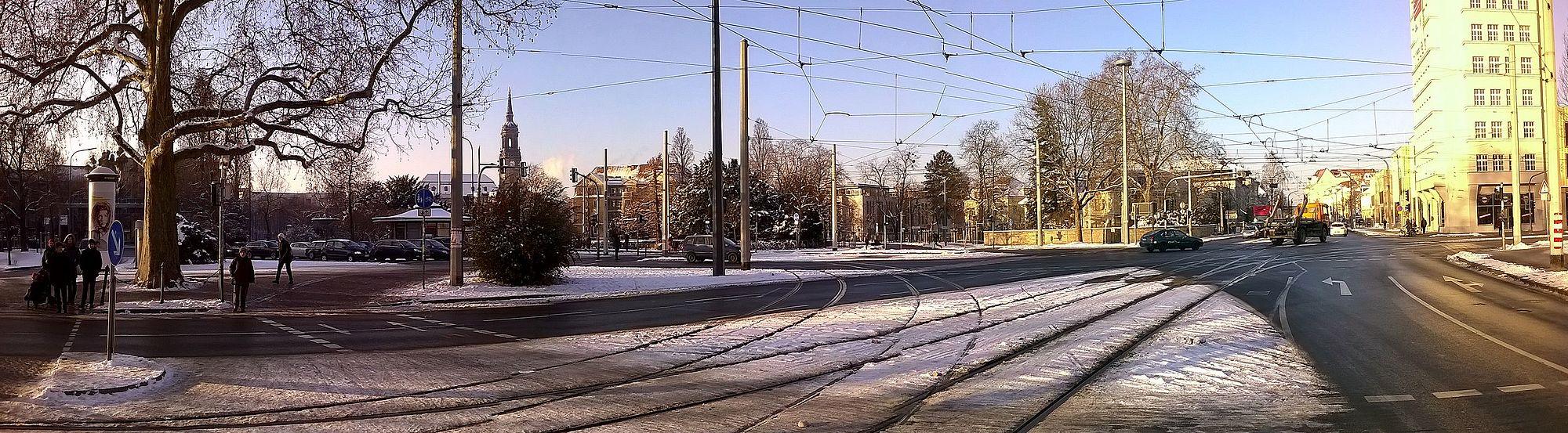 Als ich ein kleiner Junge war - Erich Kästner Museum -Panorama - Albertplatz Dresden