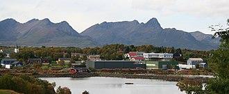 Øksnes - View of Alsvåg in Øksnes