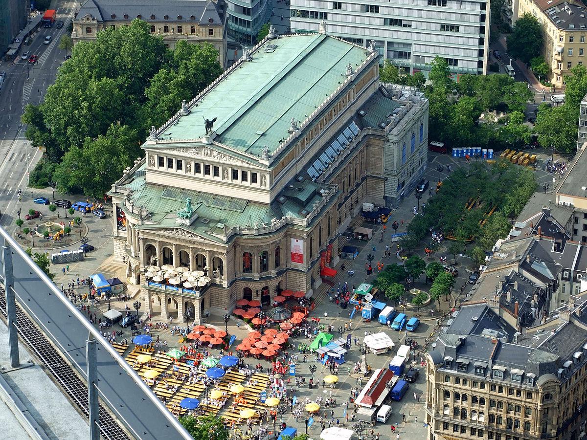 Alte Oper Frankfurt Parkhaus