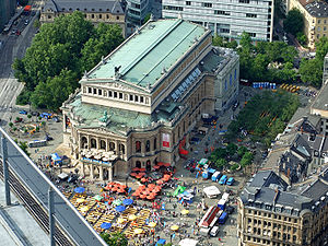 Alte Oper - The Alte Oper Frankfurt am Main