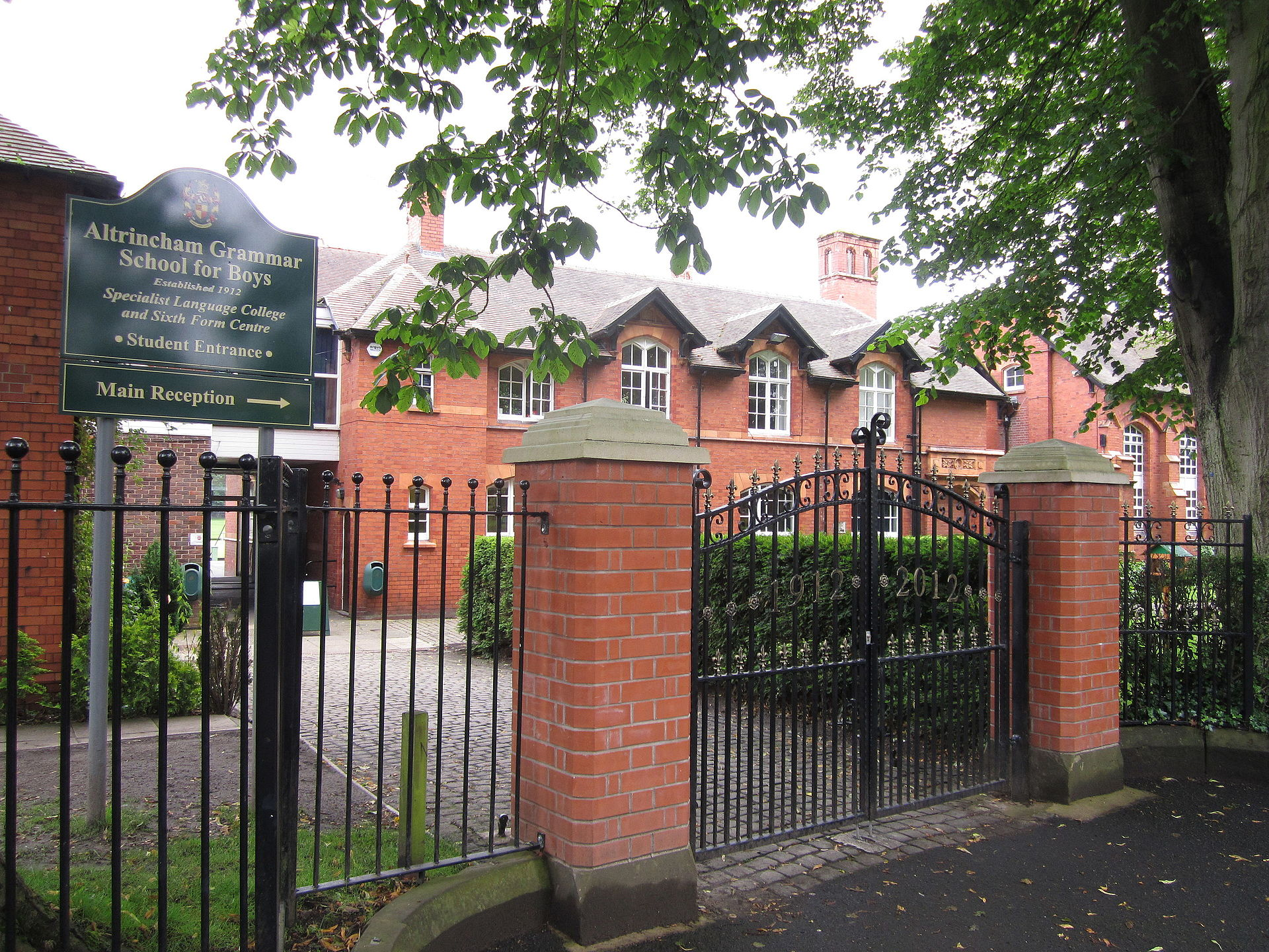 Altrincham Grammar School For Boys Wikipedia