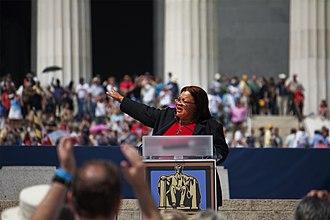 Alveda King - King at the 2010 Restoring Honor rally