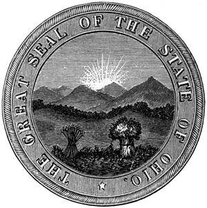 Seal of Ohio - Image: Am Cyc Ohio seal