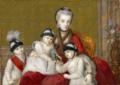 Amalia of Austria, Duchess of Parma and her children, miniature - Hofburg.png