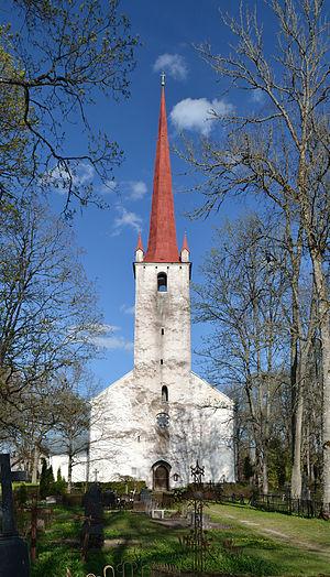 Ambla - Ambla church