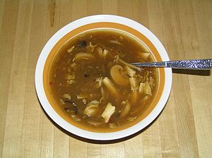 American Chinese Hot and Sour soup