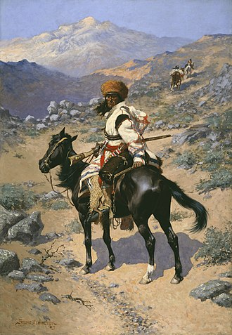 Amon Carter Museum of American Art - Frederic Remington (1861–1909), An Indian Trapper, 1889