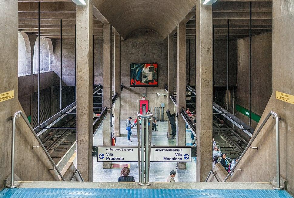 Ana rosa, S%C3%A3o Paulo Metro, Line blue, Brazil