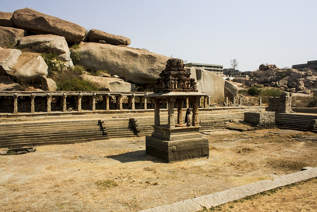 Ancient Market in Hampi 01