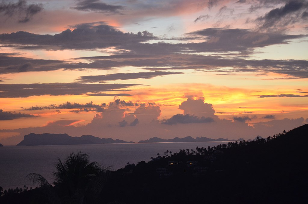 Angthong Marine Park sunset 3