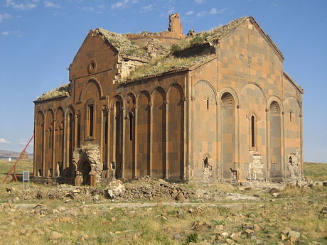 The Cathedral of Ani, completed in 1001 Ani-Cathedral, Ruine.jpeg