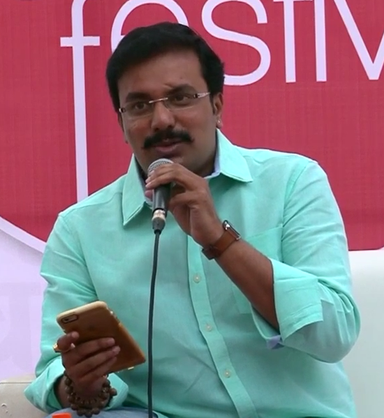 ચિત્ર:Ankit at Gujarati Literature Festival 2016 (cropped).png