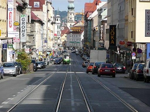 Annenstrasse Tram Graz