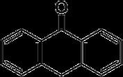 Struktur von Anthron
