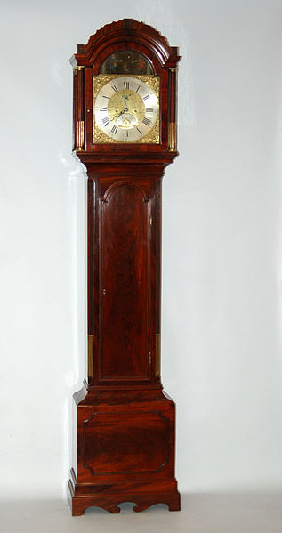 File:Antique Grandfather Clock by Grantham Clockmaker 18th century.JPG