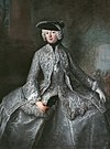 Antoine Pesne hofdame; Prinzessin Amalia von Preussen als Amazone