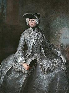 Antoine Pesne hofdame; Prinzessin Amalia von Preussen als Amazone.jpg