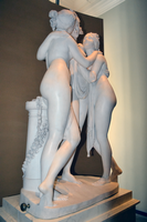 Antonio Canova (1757-1822) - The Three Graces, Woburn Abbey version (1814-1817) front left, Victoria and Albert Museum, August 2013 (11059713543).png