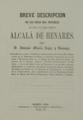 Antonio María López Ramajo (1861) Breve descripción de Alcalá de Henares.png