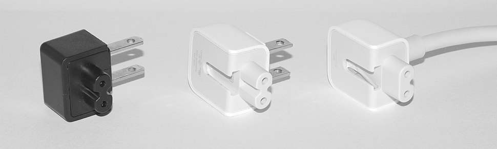 Apple and generic C7 connectors