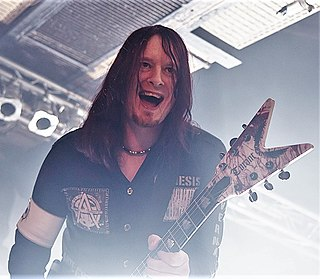 Michael Amott Swedish guitarist/songwriter