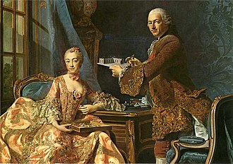 Jean-Rodolphe Perronet - Image: Architect Jean Rodolph Perronet with his wife, Alexander Roslin