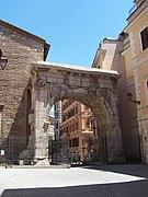 Arco di Gallieno o Porta Esquilina - lato interno - Panairjdde