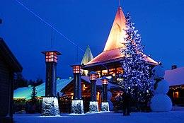 Babbo Natale Wikipedia.Villaggio Di Babbo Natale Wikipedia