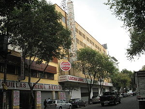 Lucha libre - Arena Mexico on Dr. Lavista Street in Colonia Doctores in Mexico City