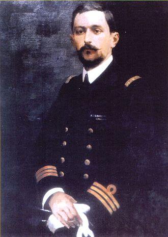 Aristeidis Moraitinis (aviator) - Image: Aristeidis Moraitinis Aviator Painting