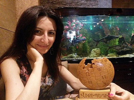 ArmAg & Armenian Wikipedia cup.jpg