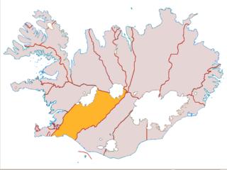 Árnessýsla County in Southern Region, Iceland