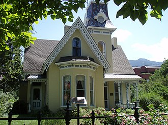 National Register of Historic Places listings in Boulder County, Colorado - Image: Arnett Fullen 2