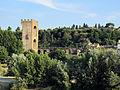 Arno con torre di san niccolò 03 piazzale michelangelo.JPG