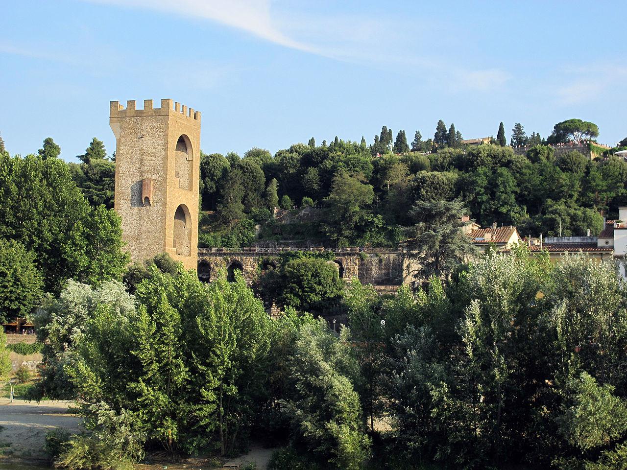 Firenze, Torre San Niccolò e le Rampe delle Poggi