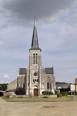 Artaise-le-Vivier (08 Ardennes) - l' Église Saint-Georges - Photo Francis Neuvens lesardennesvuesdusol.fotoloft.fr.JPG