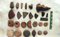 Artifact collection from Santarem Port Site Lower Amazon Project.png