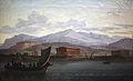 Artistes approchant Paestum par la mer IMG 2330.JPG
