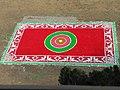 Artwork on Saraswati Puja in Hooghly Collegiate School.jpg