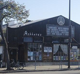 Ashkenaz (music venue) - Ashkenaz