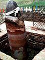 Ashoka Pillar in Lumbini Nepal.jpg