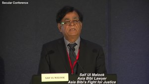 File:Asia Bibi Lawyer Saif Ul Malook, Asia Bibi's Fight for Justice.webm