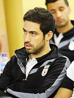 Khosro Heydari Iranian footballer