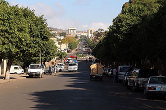 Asmara - A street in Asmara